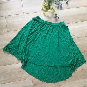 Green Mossimo Hi-Low Ballerina Skirt!